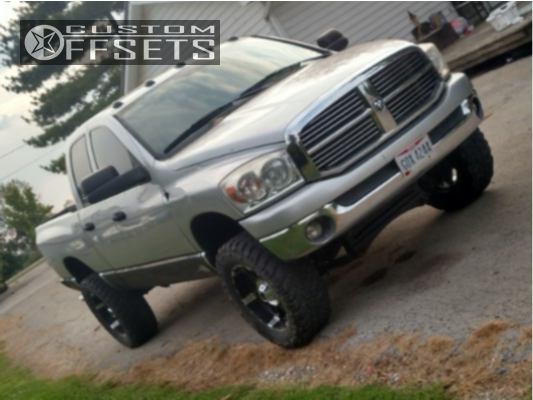 1 2007 1500 Ram Rough Country Suspension Lift 6in Xd Spy Black