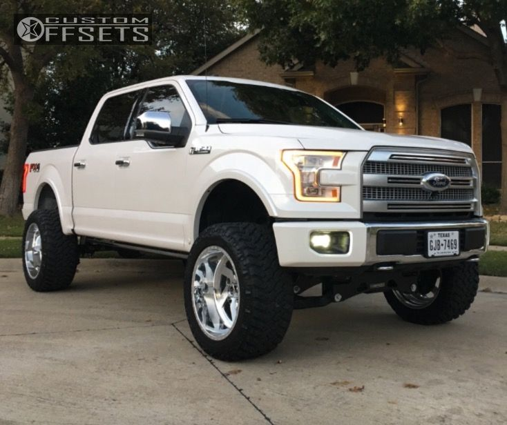 1 2015 F 150 Ford Suspension Lift 6 Fuel Forged Ff03 Polished Super Aggressive 3 5