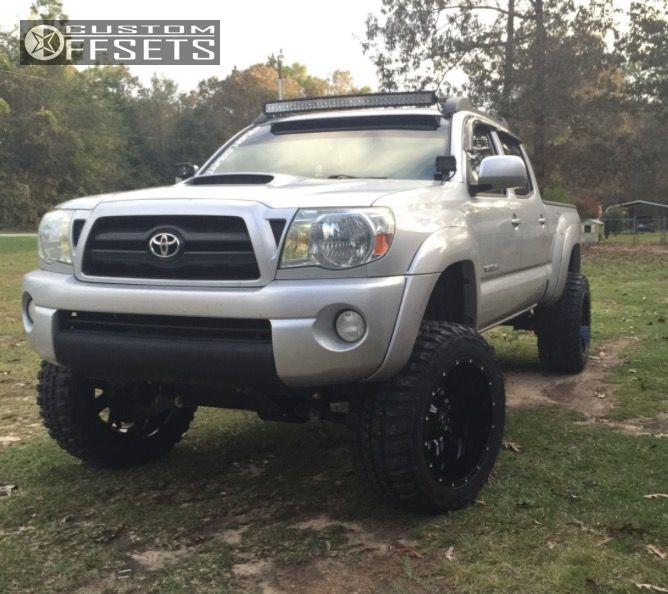 1 2007 Tacoma Toyota Suspension Lift 6 Tis 535mb Machined Accents Super Aggressive 3 5