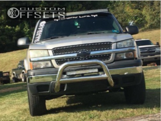4 2004 Silverado 1500 Chevrolet Trail Master Suspension Lift 3in Tuff T15 Machined Accents