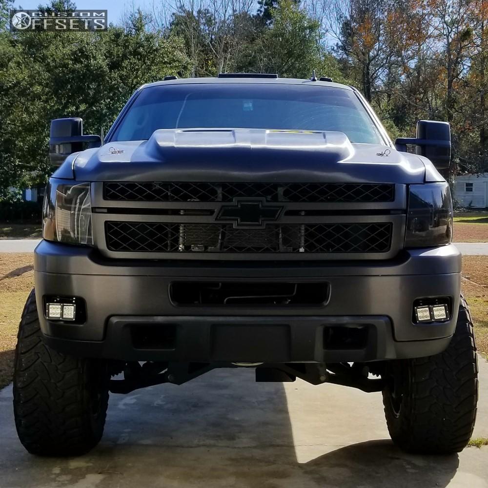 2010 Chevrolet Silverado 2500 Hd Fuel Hostage Pro Comp Suspension Lift 6in