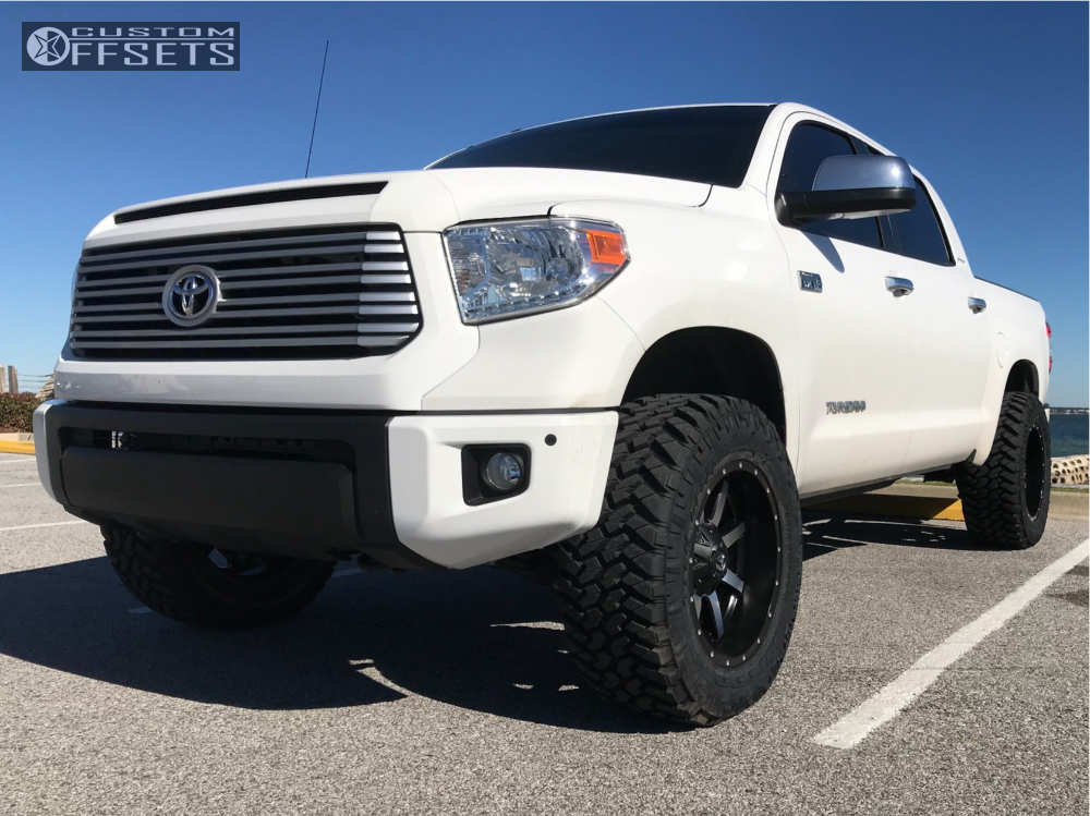 Nitto Dura Grappler >> 2017 Toyota Tundra Fuel Maverick Pro Comp Leveling Kit Custom Offsets