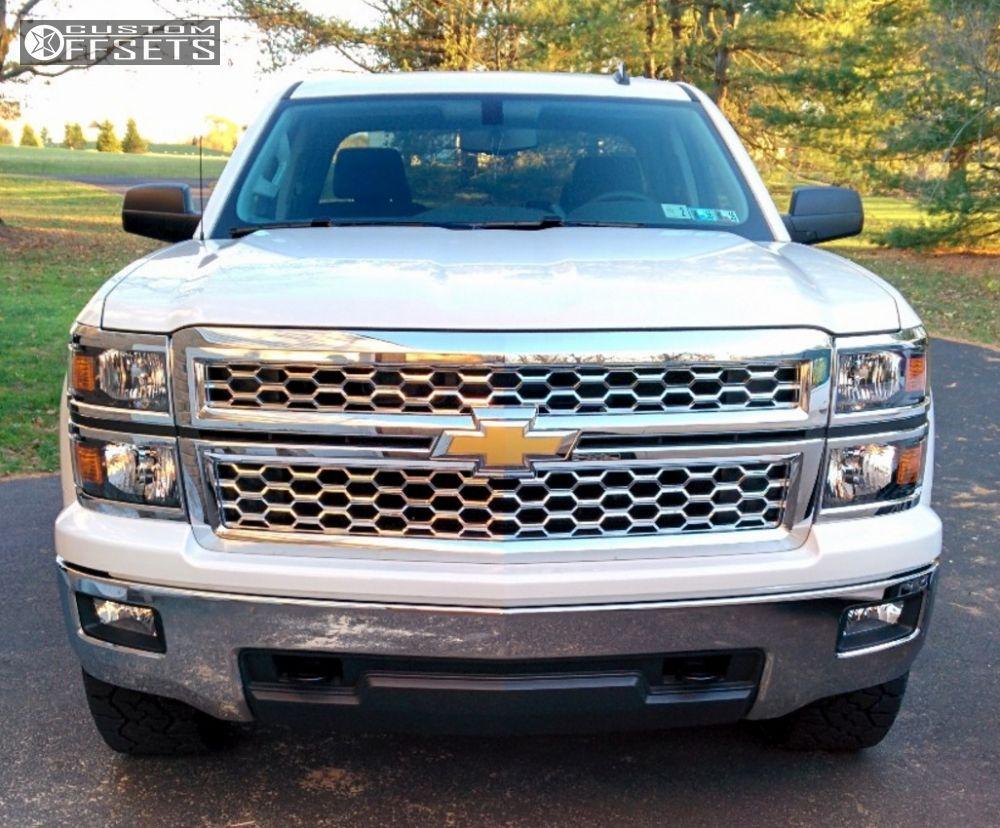 2014 Chevrolet Silverado 1500 Xd Hoss Rough Country Leveling Kit
