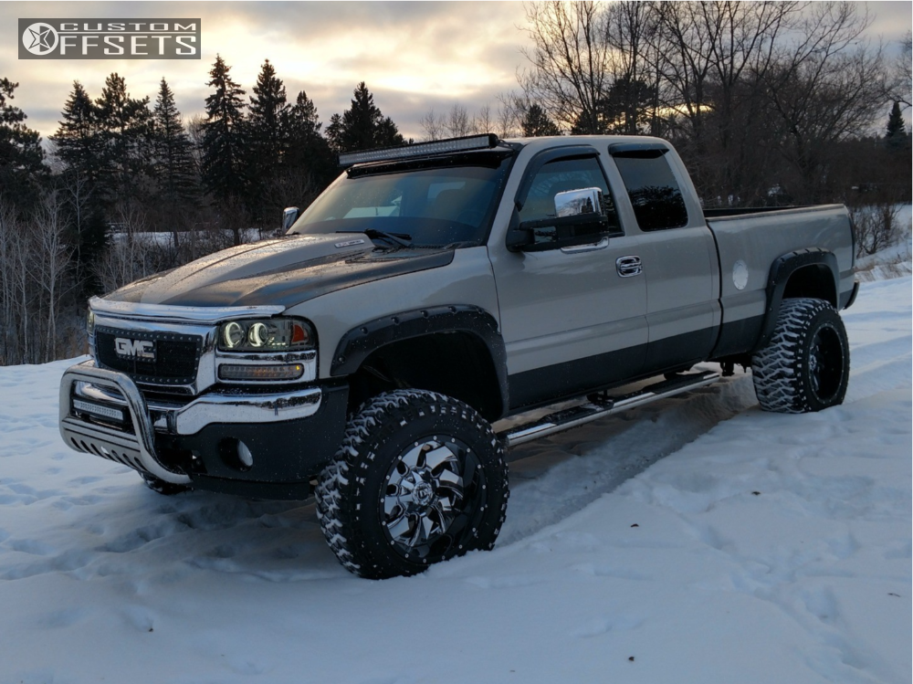 2005 Gmc Sierra 1500 Fuel Cleaver Rough Country Suspension ...