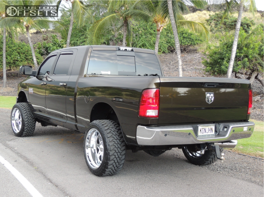 2014 Ram 2500 Weld Racing Cheyenne Carli Suspension Lift 3in Custom Offsets