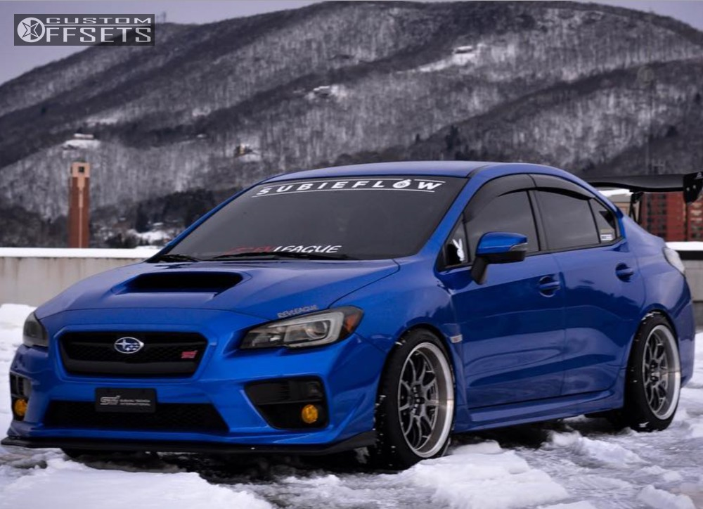2017 subaru wrx sti work emotion bc racing coilovers. Black Bedroom Furniture Sets. Home Design Ideas