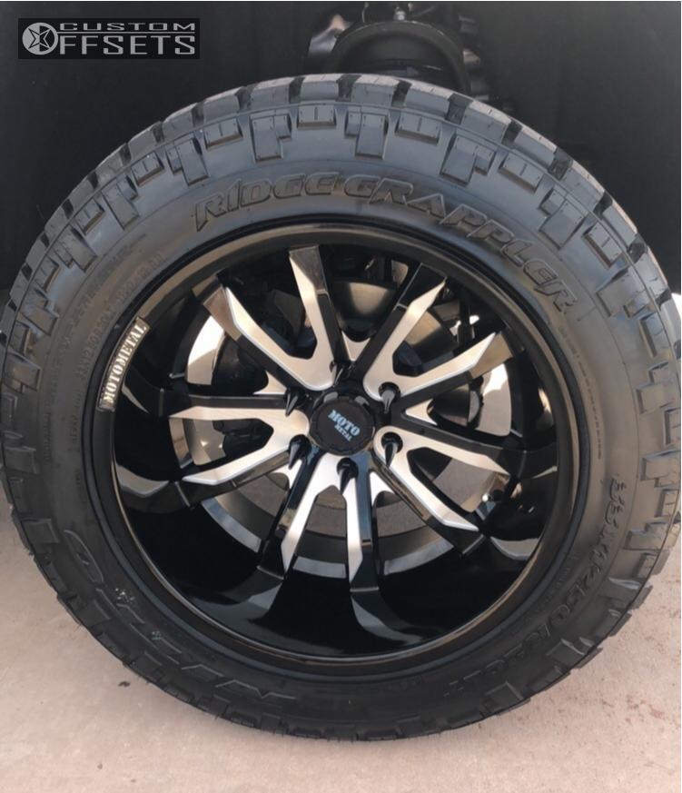 2018 Chevrolet Silverado 1500 Moto Metal Mo983 Motofab ...
