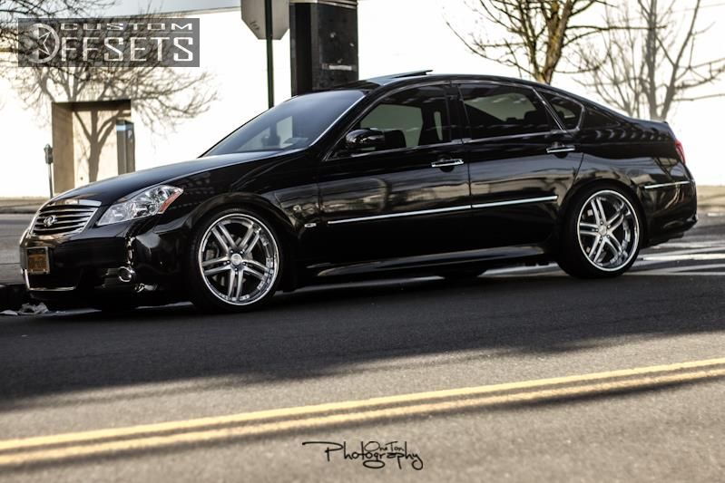 2008 Infiniti M35 Concept One Rs 55 Eibach Lowered On Springs