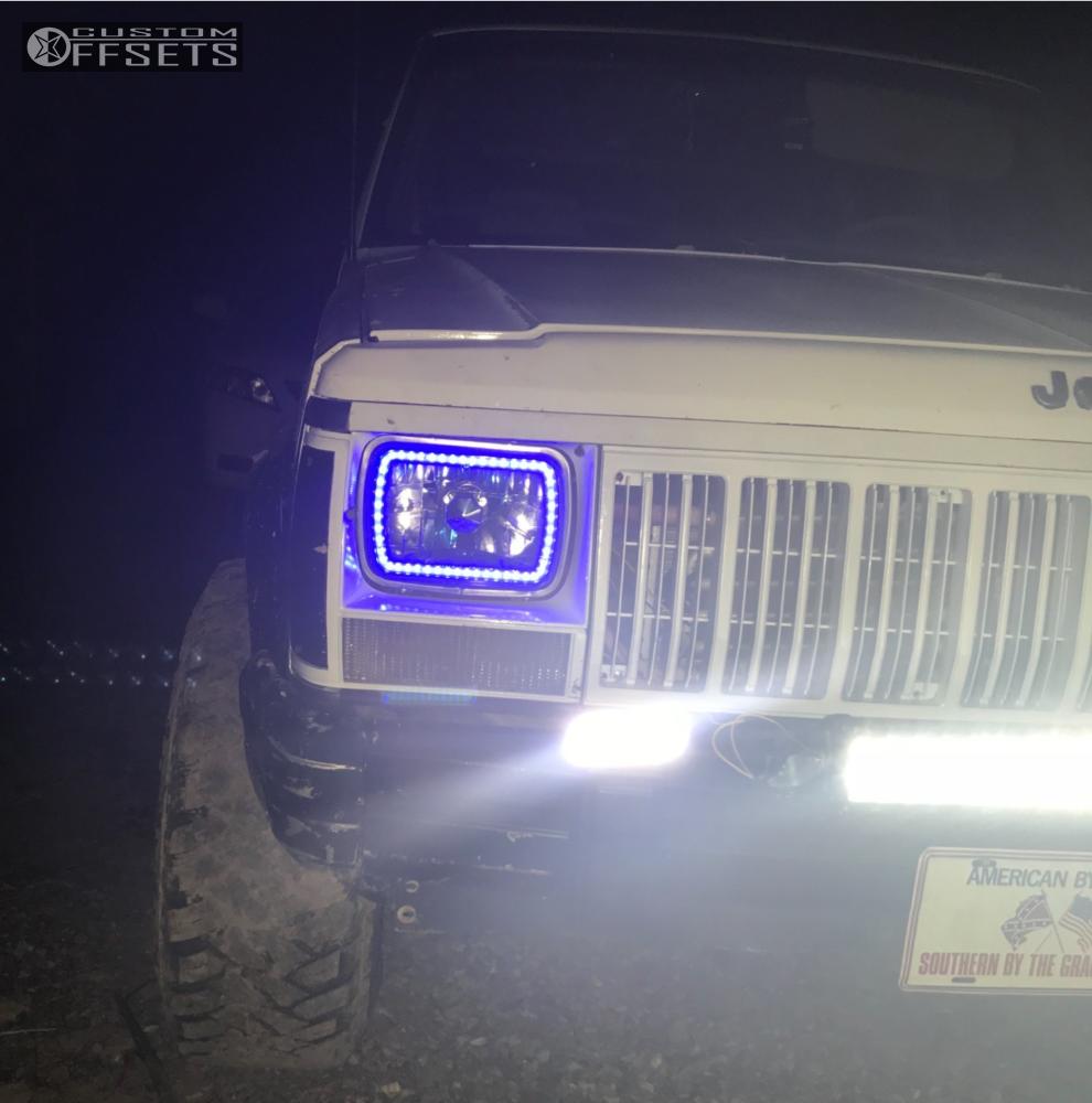 1993 Jeep Cherokee Bart Super Trucker Pro Comp Suspension Lift 3in Xj 5 Inch 31s 12 45in Chrome