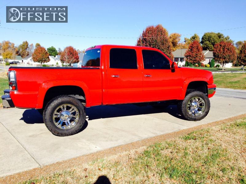 1 2004 Silverado 1500 Chevrolet Suspension Lift 6 Xd Monsters Chrome Slightly Aggressive