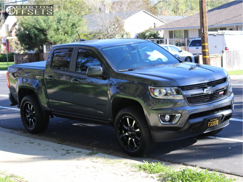 2016 chevrolet colorado moto metal mo970 readylift leveling kit. Black Bedroom Furniture Sets. Home Design Ideas