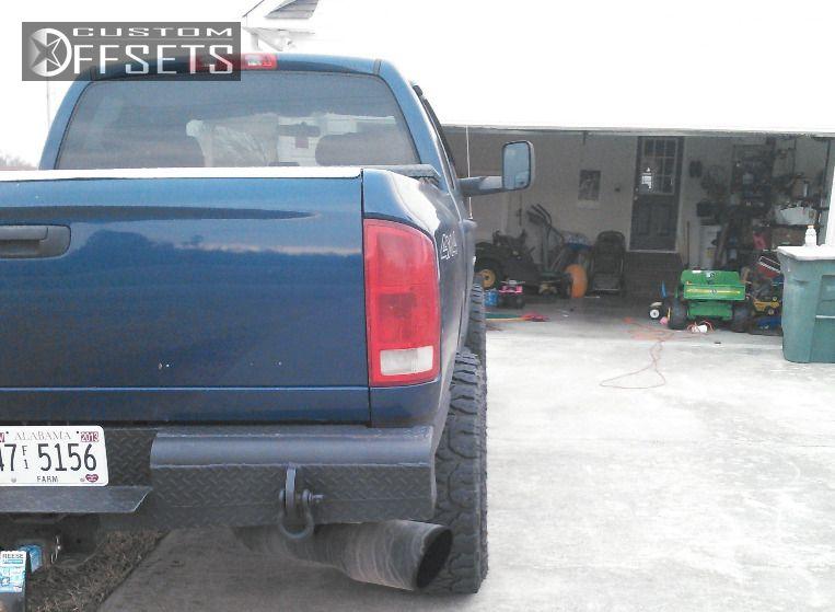 3 2004 Ram Pickup 2500 Dodge Leveling Kit Fuel Hostage Black Aggressive 1 Outside Fender