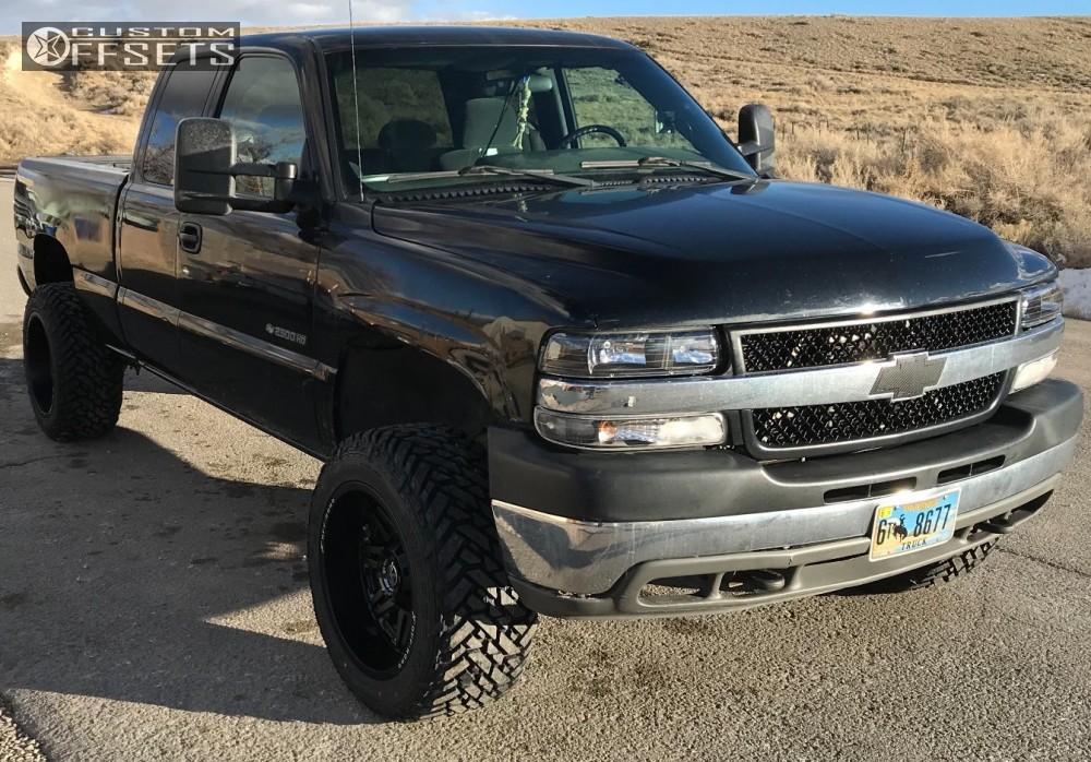 1 2002 Silverado 2500 Hd Chevrolet Stock Stock Xf Offroad Xf 204 Black