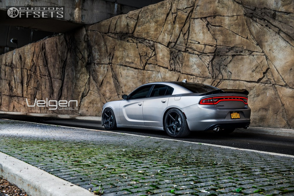 2015 Dodge Charger Velgen Classic5 Eibach Lowering Springs