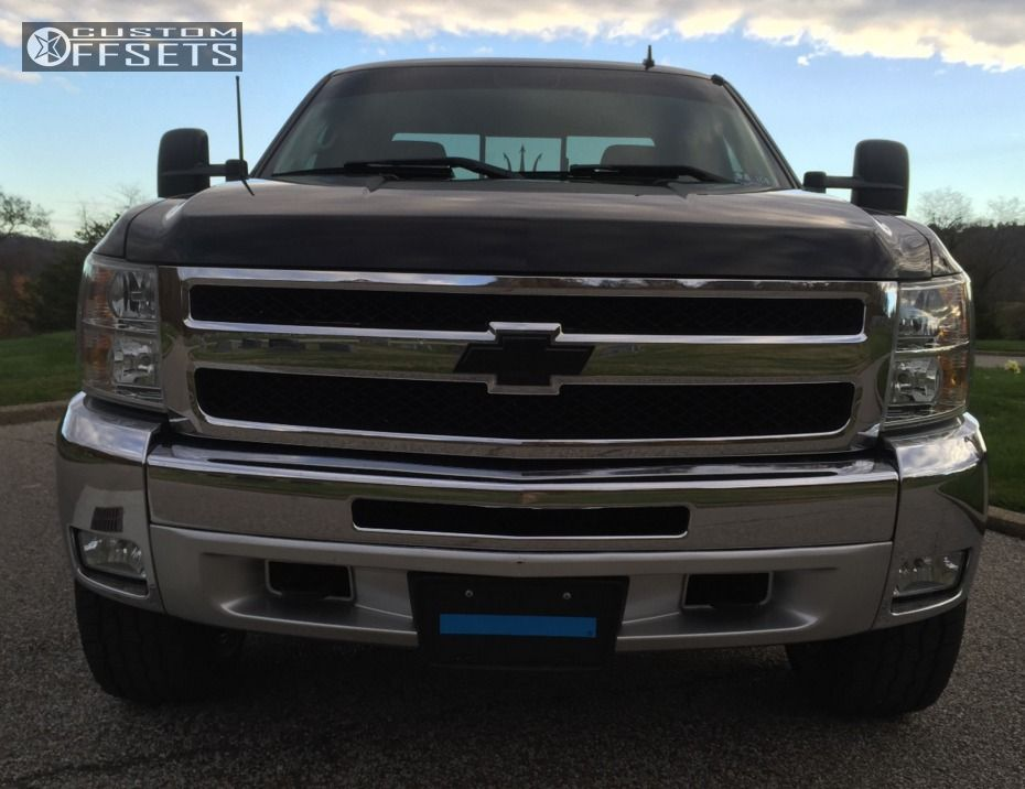 2012 chevrolet silverado 1500 tuff t10 rough country leveling kit. Black Bedroom Furniture Sets. Home Design Ideas