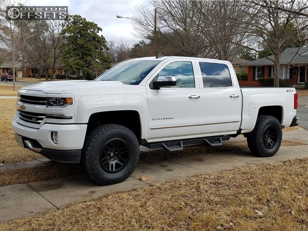 2016 Chevrolet Silverado 1500 Fuel Recoil Readylift