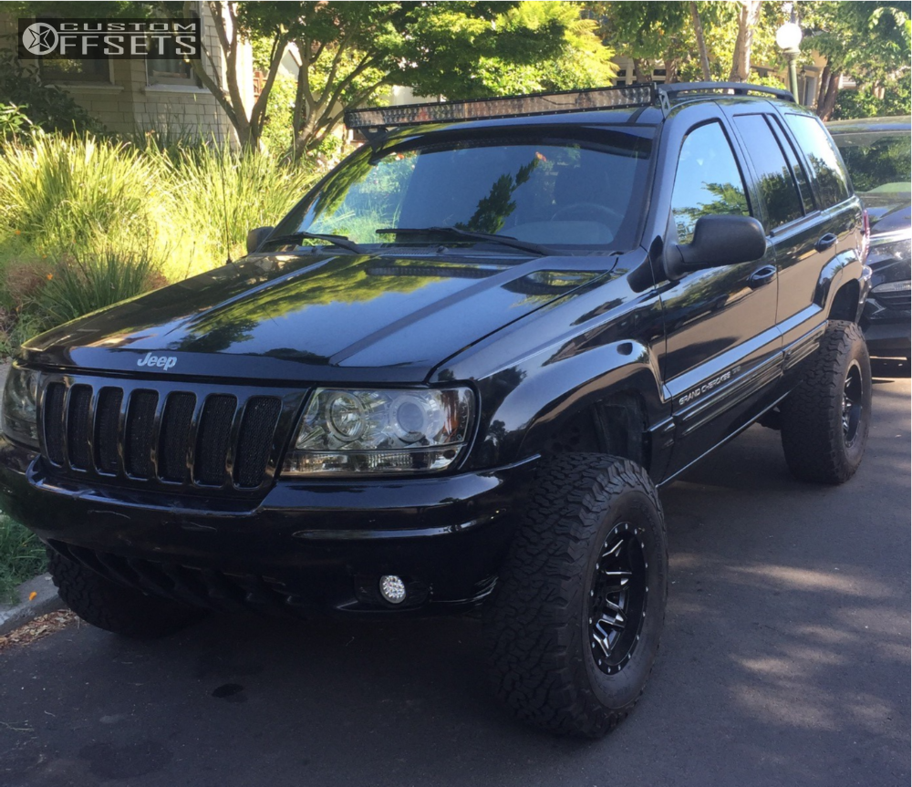 2000 Jeep Grand Cherokee Fuel Lethal Iron Rock Offroad Suspension
