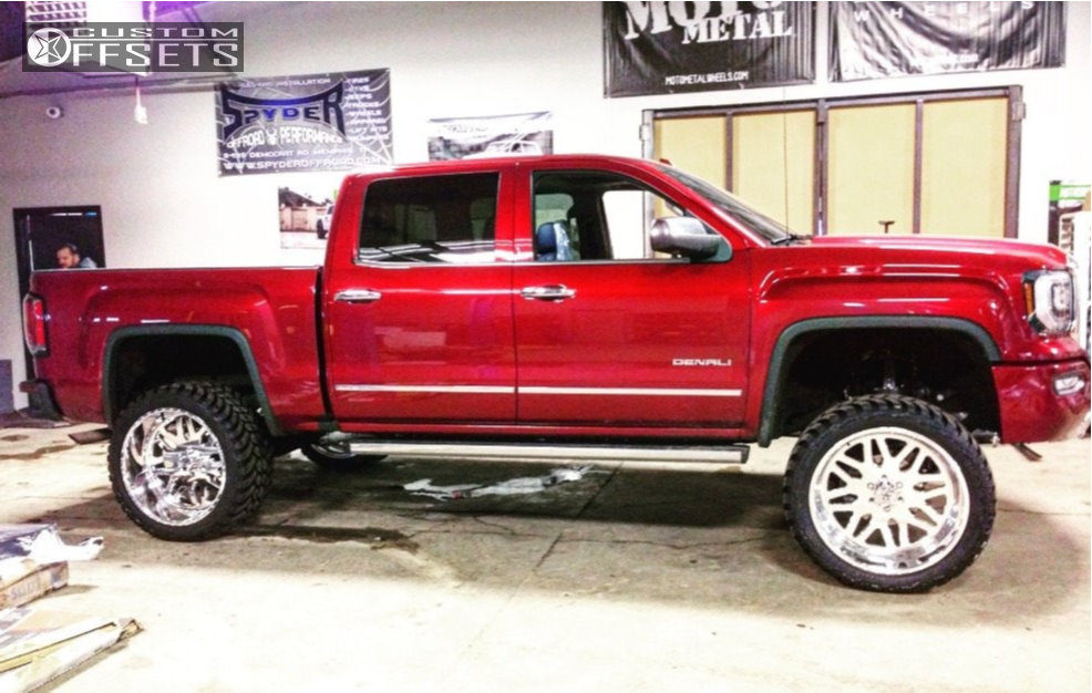1 2017 Sierra 1500 Gmc Bds Suspension Lift 6in American Force Trax Ss Polished