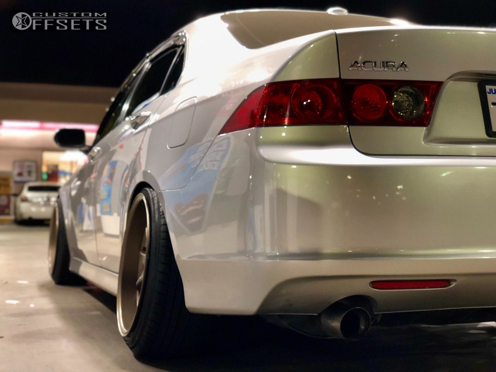 Acura Tsx Work Xd Bc Racing Coilovers - 2006 acura tsx coilovers