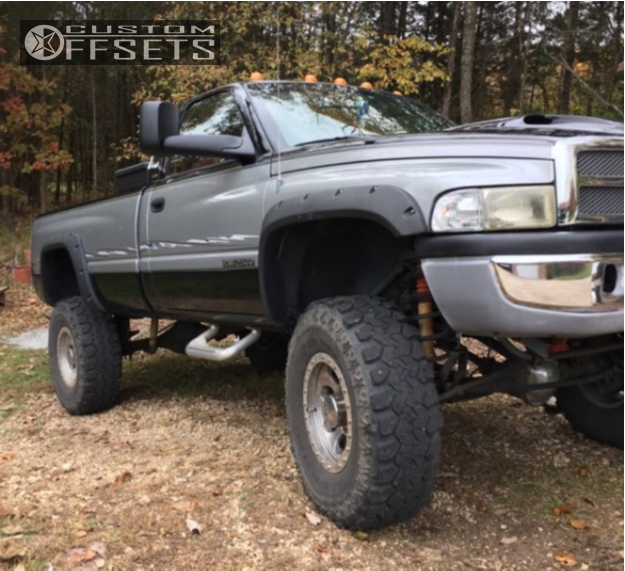 1995 Dodge Ram 2500 Mickey Thompson Classic Lock Custom