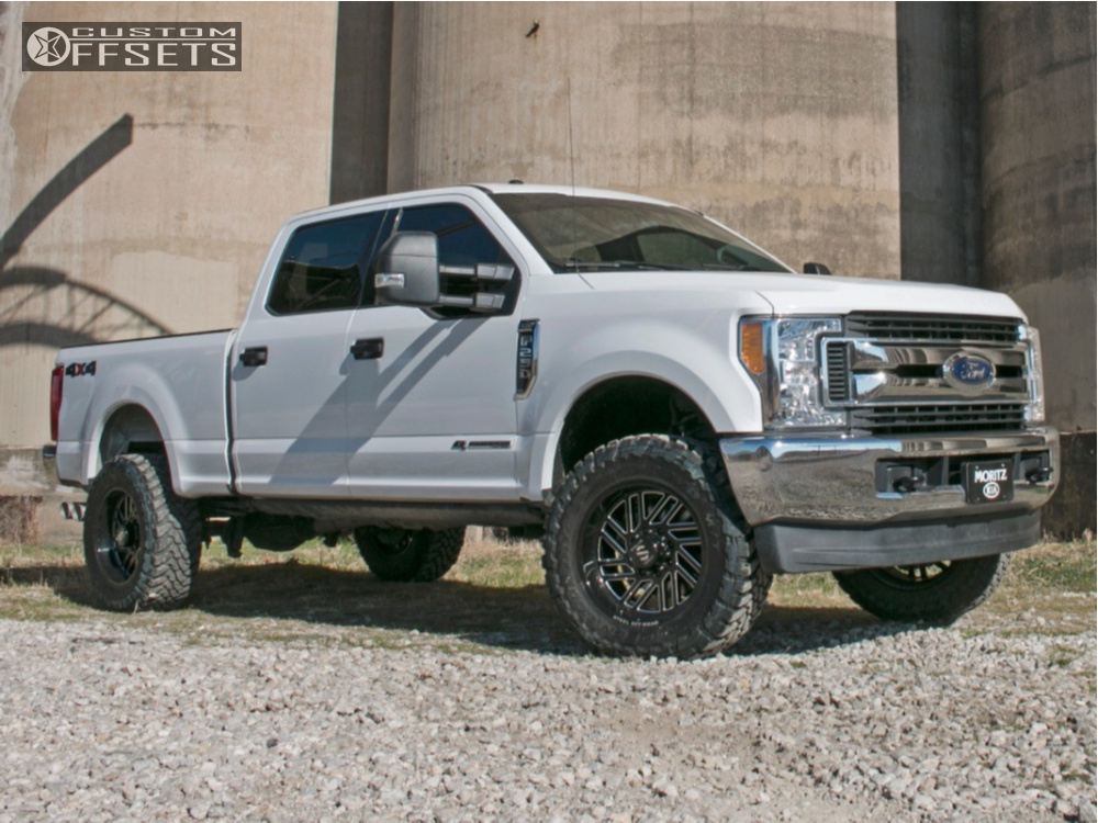 2017 Ford F350 Custom >> 2017 Ford F 250 Super Duty Steel Off Road Sd310 Rough Country Leveling Kit