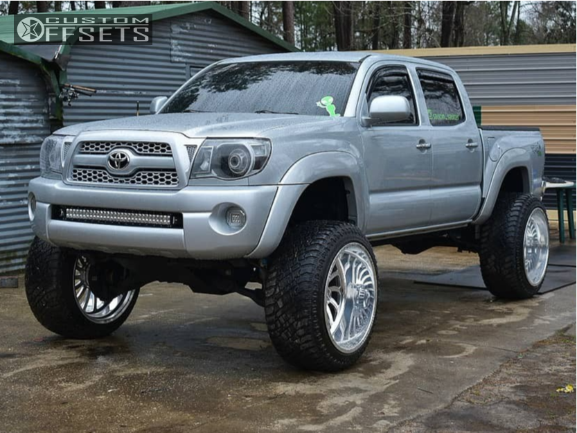 Toyota Tire Deals >> 2006 Toyota Tacoma Specialty Forged Sf007 Rough Country ...