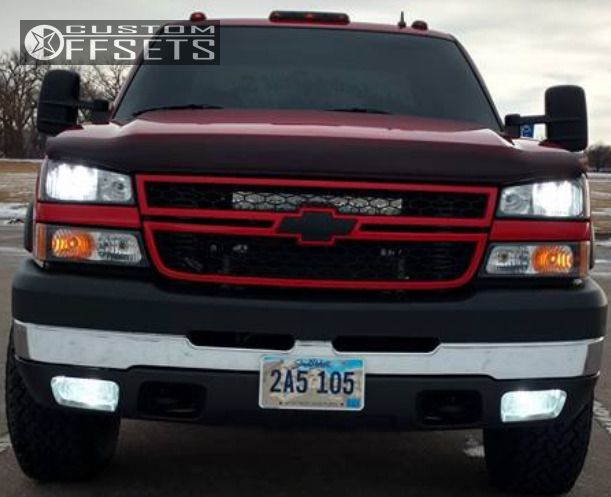 2 2006 Silverado 2500 Hd Chevrolet Stock Moto Metal Mo970 Black