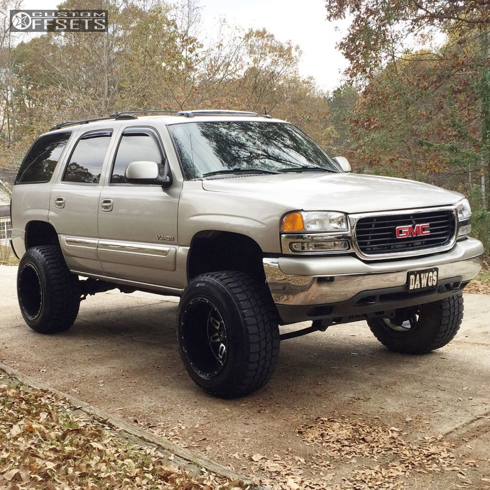 1 2004 yukon gmc suspension lift 6 fuel hostage black super aggressive 3 5