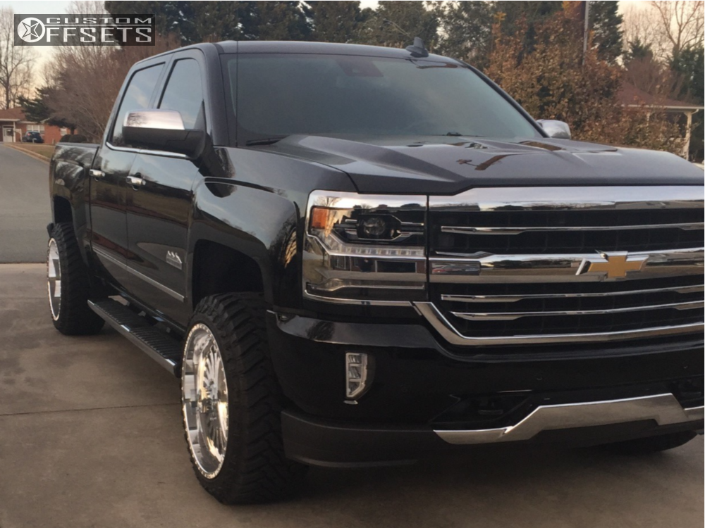 2017 chevrolet silverado 1500 american force burnout ss rough country leveling kit. Black Bedroom Furniture Sets. Home Design Ideas