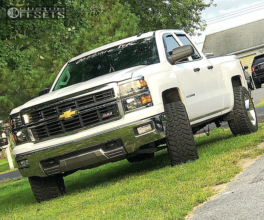 1 2014 Silverado 1500 Chevrolet Rough Country Leveling Kit Xd Addict Chrome
