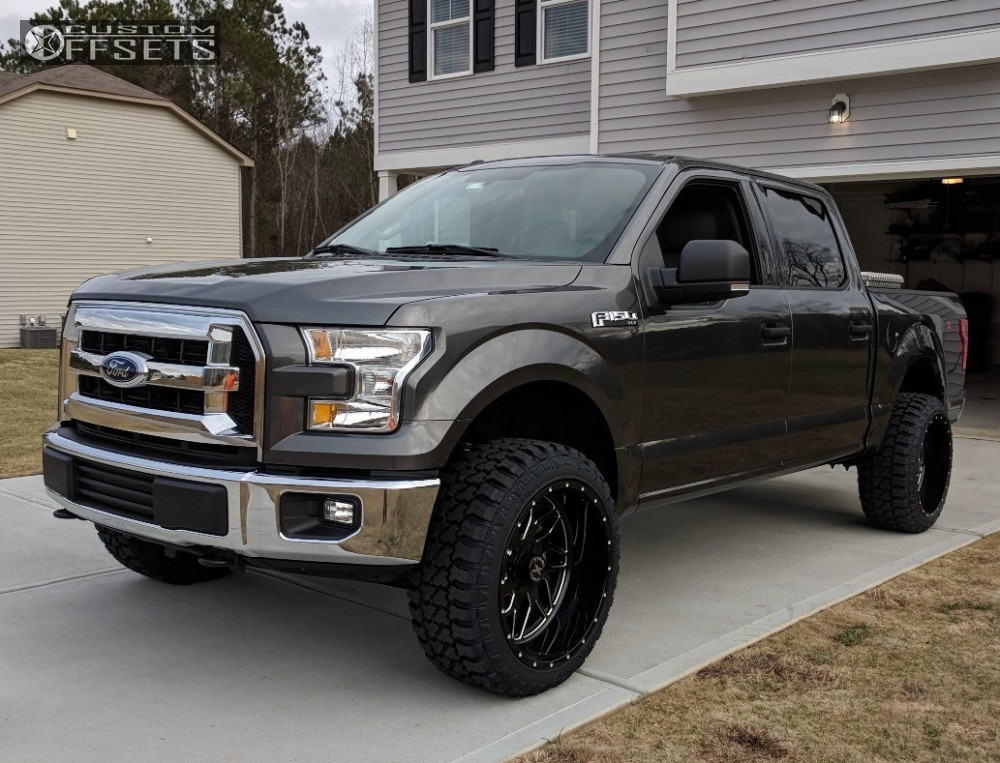Xf Offroad Wheels >> 2017 Ford F 150 Xtreme Force Xf2 Readylift Leveling Kit