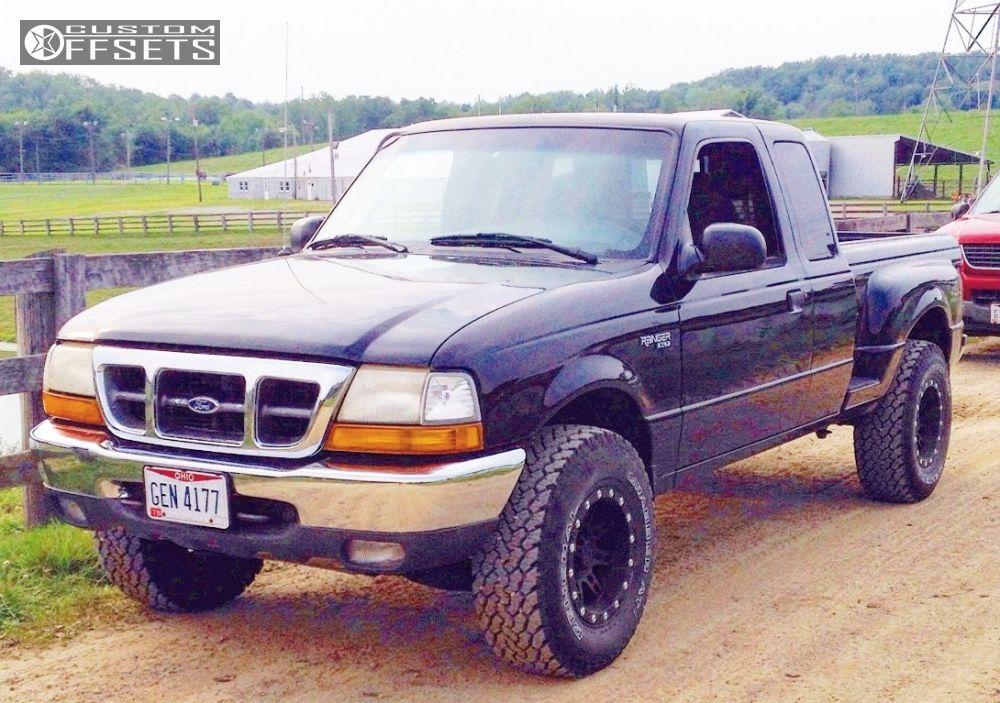 33064 1 2000 f 100 ranger ford stock pro comp 7031 black slightly aggressivejpg - 2000 Ford Ranger Black