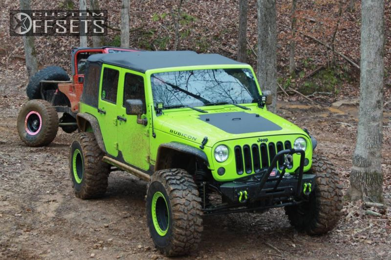 Wheel offset 2012 jeep wrangler aggressive 1 outside fender 4 2012 wrangler jeep unlimited rubicon 4dr suv 4wd 36l 6cyl 6m suspension lift 3 raceline sciox Image collections