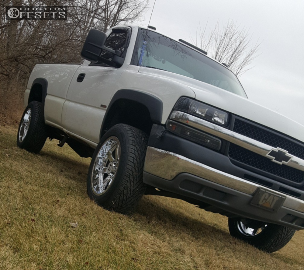 2001 Chevrolet Silverado 2500 Hd Hostile Alpha Stock Stock