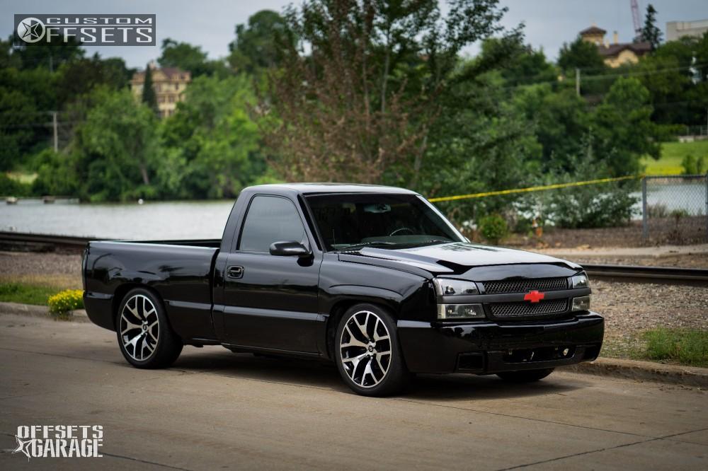 Lowered Dodge Ram 1500 >> 2003 Chevrolet Silverado 1500 Lunatech Gm2 Djm Lowered 4f 6r