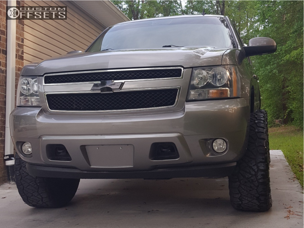 2 2007 Tahoe Chevrolet Rough Country Suspension Lift 4in Tis 534b Black