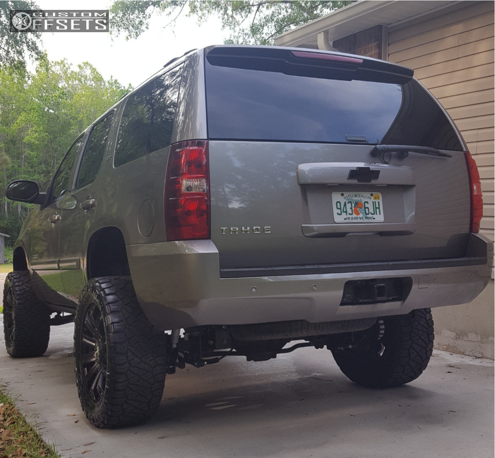 3 2007 Tahoe Chevrolet Rough Country Suspension Lift 4in Tis 534b Black