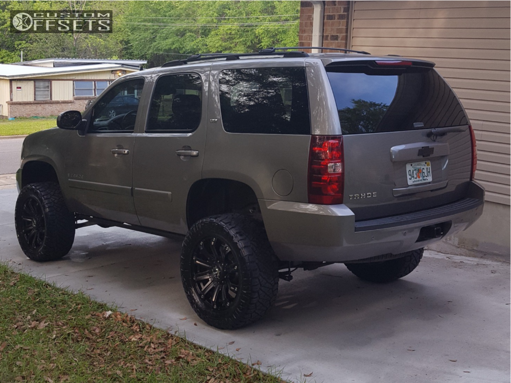 4 2007 Tahoe Chevrolet Rough Country Suspension Lift 4in Tis 534b Black