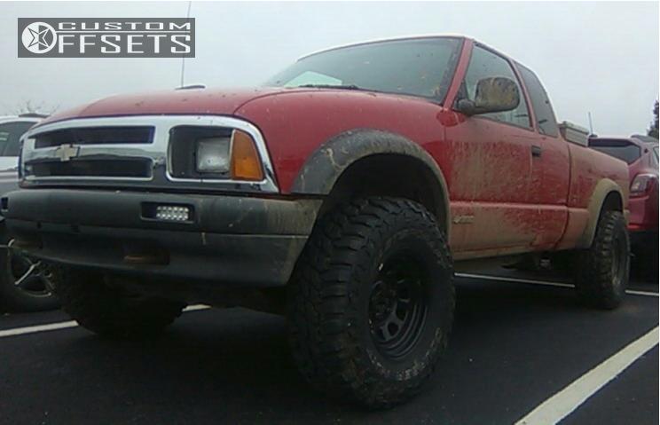 1 1997 S10 Chevrolet Stock Stock Pro Comp Series 52 Black