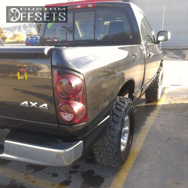 2007 Dodge Ram 3500 Regular Cab Exterior: Wheel Offset 2008 Dodge Ram 1500 Aggressive 1 Outside