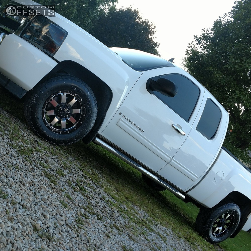 2009 Dodge Ram 2500 Gear Alloy Big Block Supreme: 2009 Chevrolet Silverado 1500 Gear Alloy Big Block Stock Stock