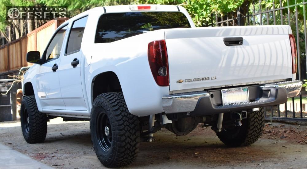 4 2005 Colorado Chevrolet Fabtech Suspension Lift 3in Pro Comp 52 Black