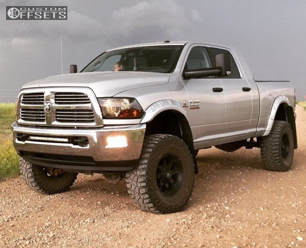 1 2013 2500 Ram Fox Suspension Lift 7in Black Iron Other Black