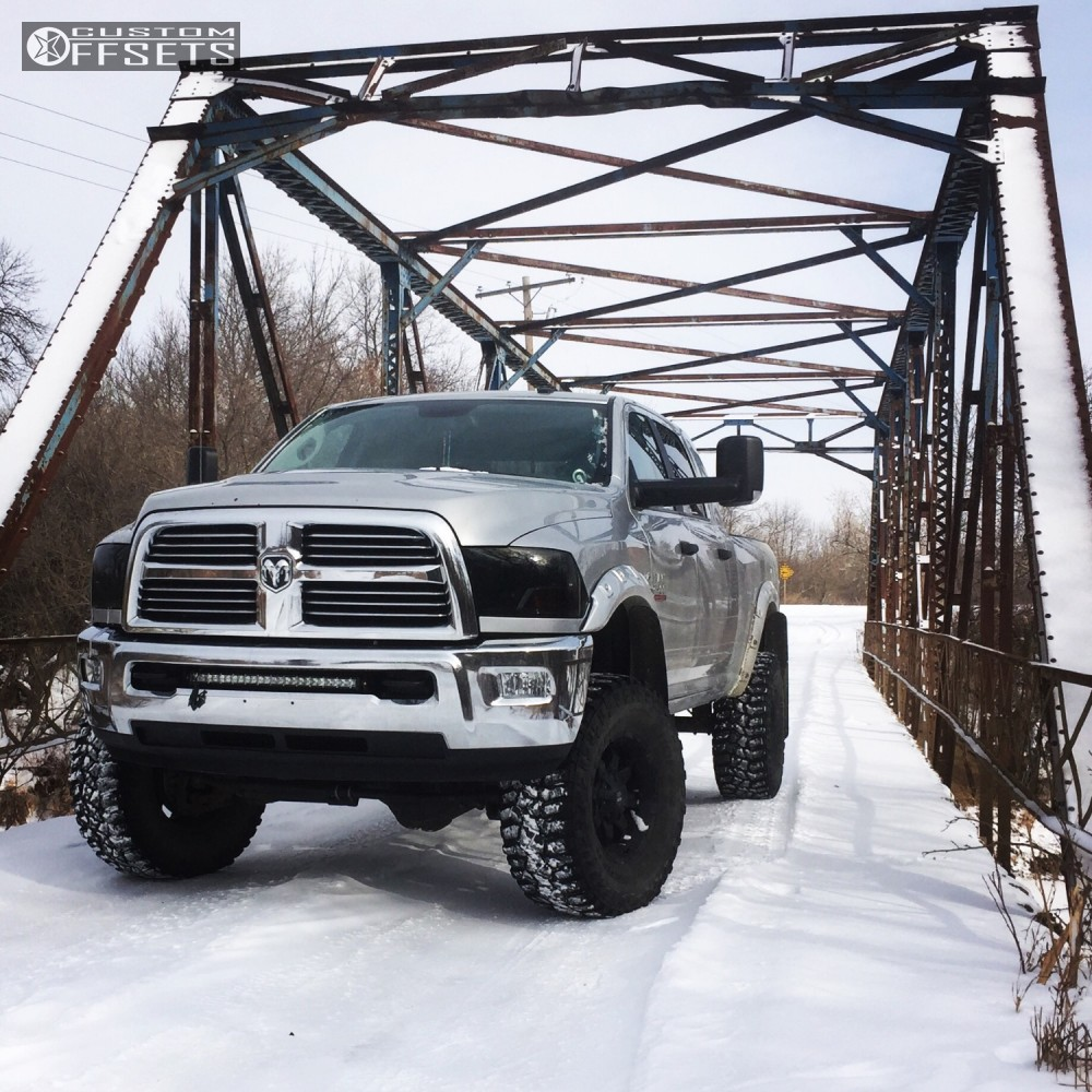 12 2013 2500 Ram Fox Suspension Lift 7in Black Iron Other Black