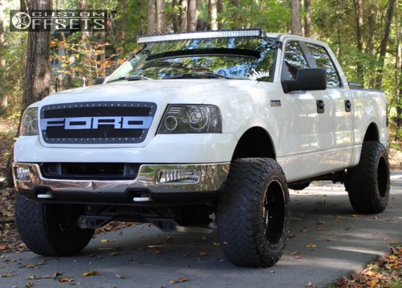 1 2005 F 150 Ford Suspension Lift 4 Moto Metal Mo962 Black Super Aggressive 3 5