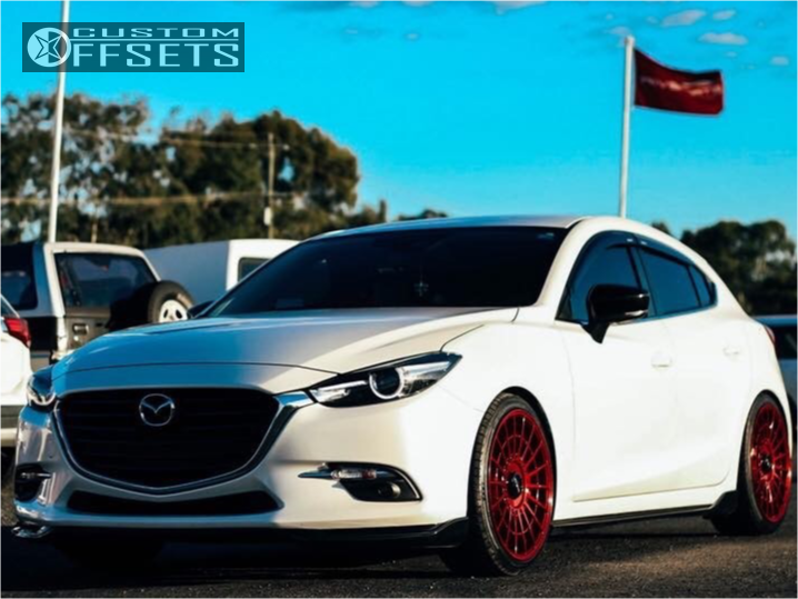 Mazda 3 2017 Custom >> 2017 Mazda 3 Rotiform Las R Bc Racing Coilovers