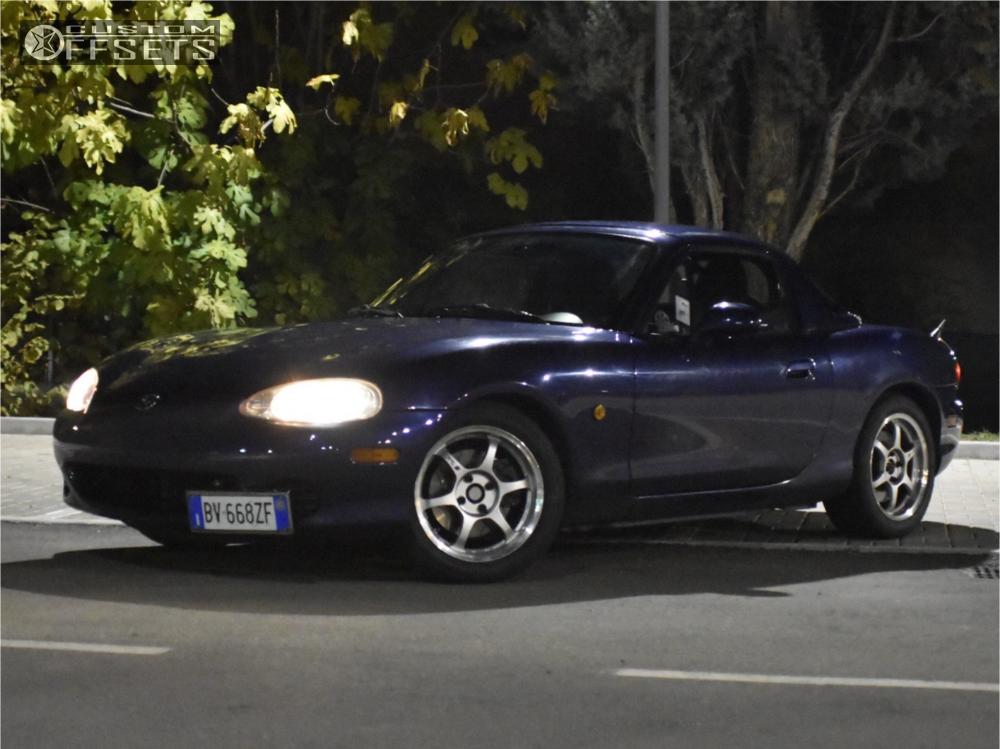 Mx Miata Mazda Ohlins Coilovers Ssr Type C Silver