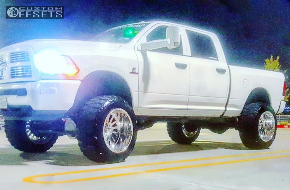 Wheel Offset 2015 Dodge Ram 2500 Hella Stance 5 Suspension Lift 8