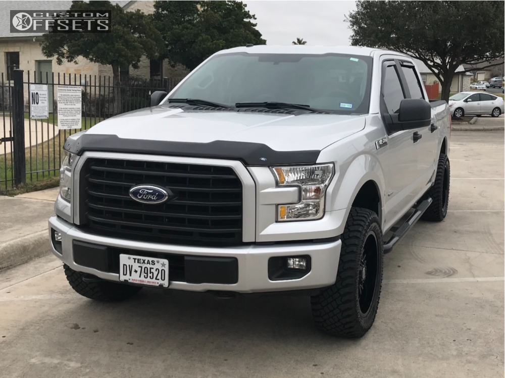1 2017 F 150 Ford Pmx Leveling Kit Panther Offroad 580 Black