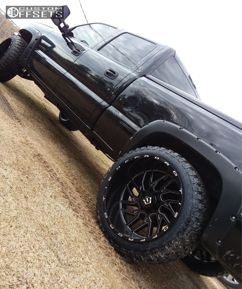 5 2006 Silverado 1500 Hd Chevrolet Rough Country Level 2in Drop Rear Tis 544bm Machined Black